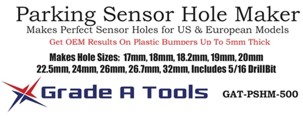 Hole Maker for Bumper Parking Sensors