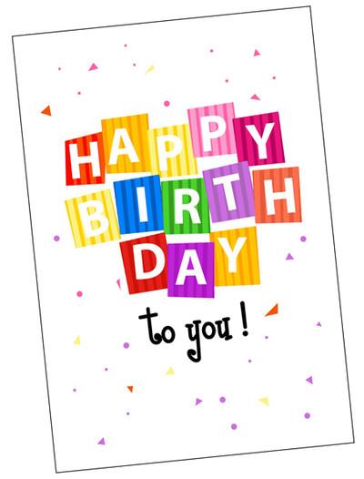 Free Birthday Card