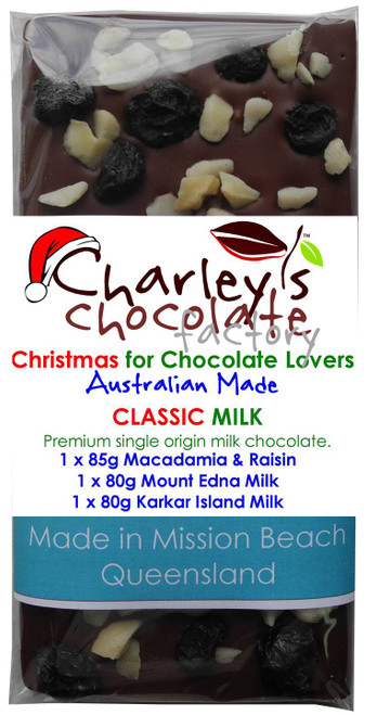 Christmas Special Classic Milk Chocolate Tasting Pack