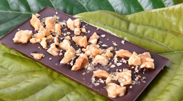 Macadamia Praline - Dark Chocolate PLUS