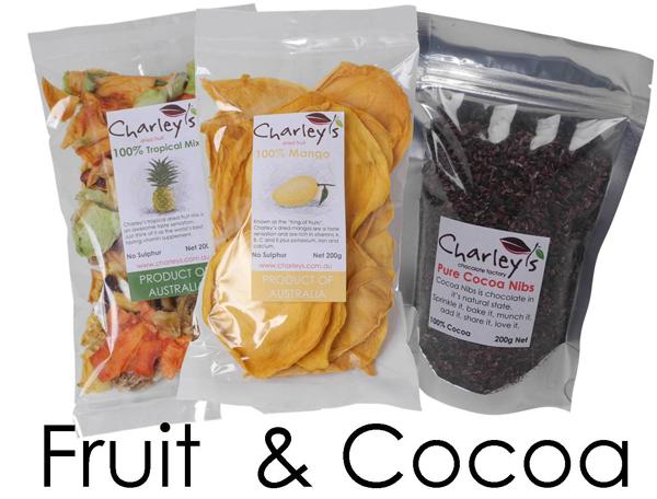 sulphur free dried fruit cocoa nibs cocoa beans