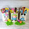 Personalized Linen Easter Basket