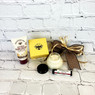 Treat someone to this beautiful gift of Savannah Bee Spa Products.  Gift includes Savannah Bee Royal Jelly Body Butter, Savannah Bee Honey Almond Lip Balm and Beeswax hand cream with Royal Jelly.  Perfect gift to show someone you are thinking of them!