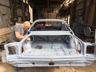 #69 Road Runner Restoration- Goes to Body Shop