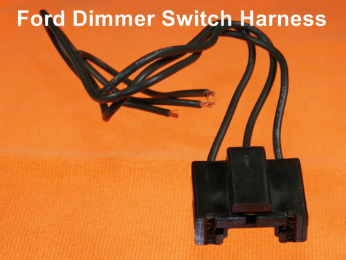 Dimmer Switch Harness Pigtail For 59-80 Ford Mustang Galaxy Bronco #843