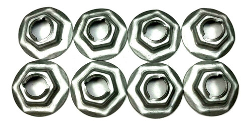 Side Marker Retainer Nuts For 72 & Up Mopar A/B/C/E Body (Qty-8) #54