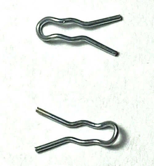 Carb Linkage Clips With Curved End For Edelbrock & Other Carbs (Qty-10) #929