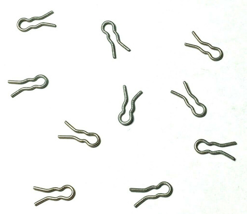 Carb Linkage Clips For Edelbrock Carburetors & Others Fits GM Ford Mopar (10 Clips) #928