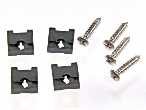 Console Light Screws & Clips For 66-70 Satellite Charger Super Bee #636