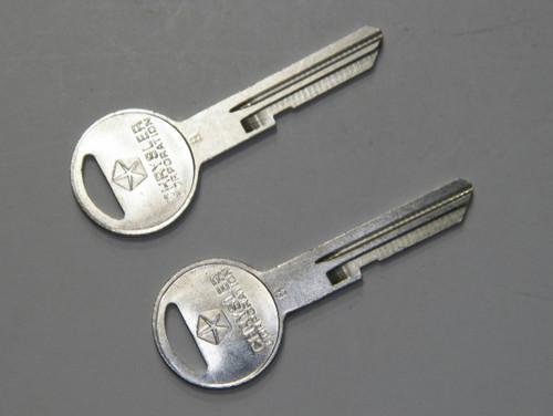Mopar Key Blank Trunk Rear Decklid A/B/C/E Body 1966-85 Satellite Cuda Charger #102