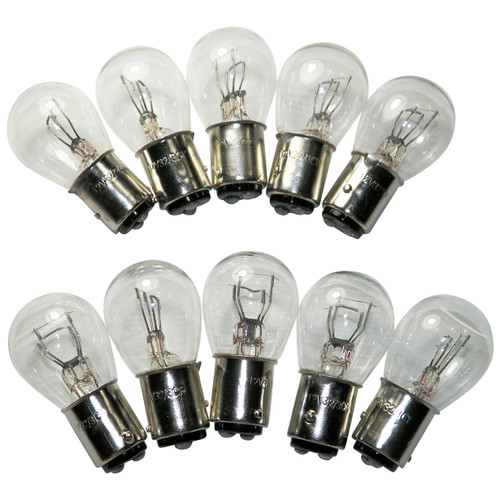 #1157 Standard Bulbs Tail Light Brake Miniature Bulbs 10 PACK #29