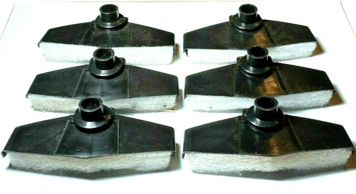 Crankcase Ventilation Breather Elements For 1970-85 Ford (Qty-6) #932