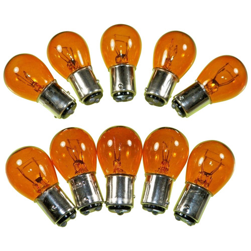 #1157NA AMBER Standard Bulbs Tail Light Bulbs (10 PACK) #39