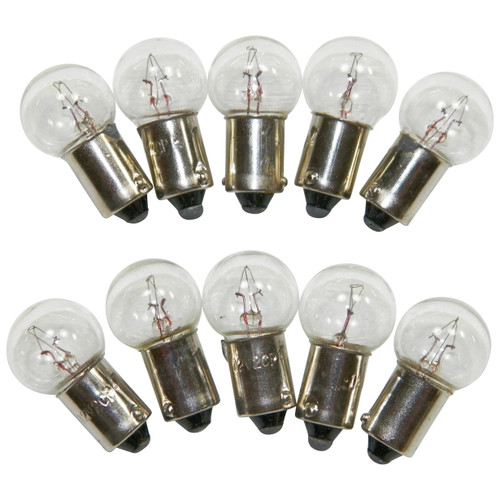 #1895 Standard Bulbs Brake Warning/Hi Beam Single Post (10 PACK) #37