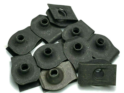 #10-24 Extruded U-Nut Clips For Ford GM Mopar (Qty 10) #1066