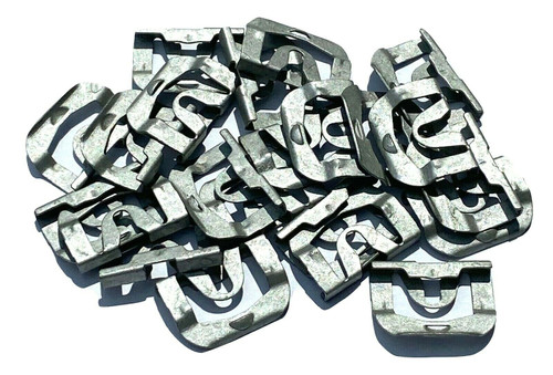 Windshield or Rear Window Molding Trim Clips For 68-81 GM (Qty-20 Clips) #118
