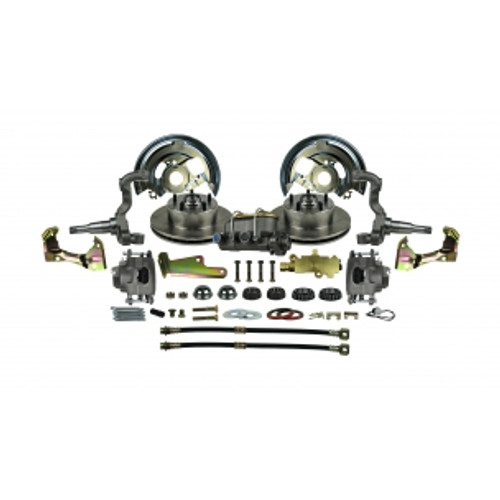 '67 - '69 F Body GM - Standard Manual Front Disc Conversion Kit # AFXSD02C