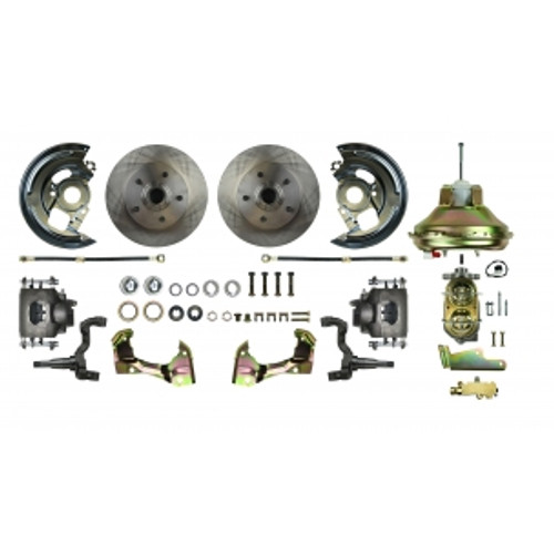 "'67 - '69 F Body GM, 11"" Booster - Power Disc Conversion Kit # AFXDC02C"