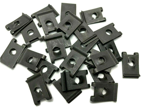 #10 U-Nut Clips .025 -.064 Panel Range (Qty-25) #989