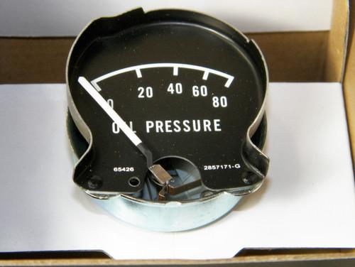68-70 Mopar B Body Rallye Dash Oil Pressure Gauge Charger Coronet #1373