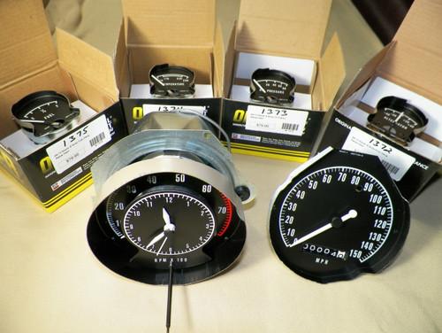 68-70 Mopar B Body Rallye Dash Gauges Charger Coronet Gauge Set #1375