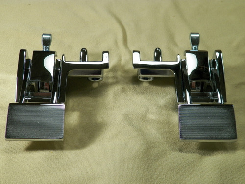 66-70 Mopar B Body Convertible Top Latches New LH/RH 67-69 A Body #1412
