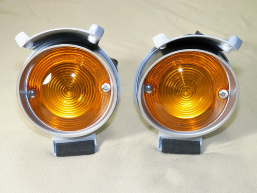 68-69 Coronet Super Bee Park Lamp Assemblies Parking Lights New LH/RH #1422