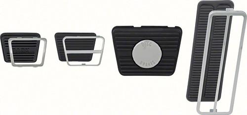 67 68 Camaro Firebird Pedal Pad Kit Disc Brakes Manual Transmission #1425