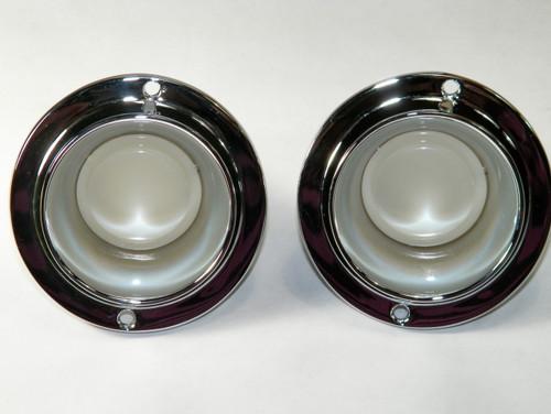 64-70 Mopar B Body Console Light Assemblies Charger Sat RR Console Lights #1440