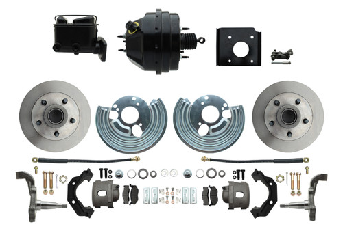 70-74 Challenger Cuda Front Disc Brake Conversion Kit w/ Booster #1474