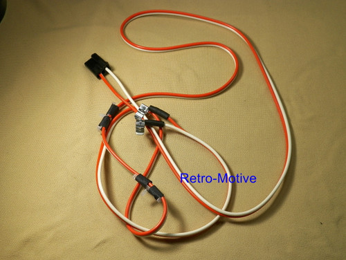 67-69 Camaro Dome Light Wiring Kit 67-68 Firebird #1494