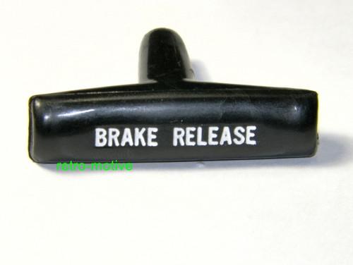 64-72 Chevelle Plastic Park Brake Handle 67-81 Camaro 68-72 Nova #1532