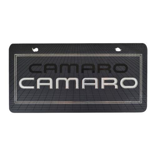 Classic Car License Plate CAMARO #1283