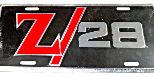 Classic Car License Plate Chevy Z/28 #1286