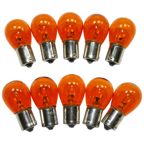 #1156NA Standard Bulbs Back Up & Running Lights 1156 Amber (10 PACK) #886