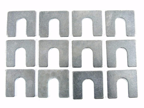 "1/16"" Thick Body Shims 3/8"" Slot Fit GM Ford Mopar (Qty-12) #2132"