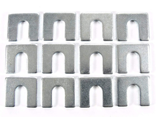 "1/8"" Thick Body Shims 3/8"" Slot Fit GM Ford Mopar (Qty-12) #2134"