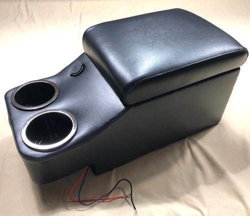 Center Floor Console For Mopar A/B/C/E Body Black #1699