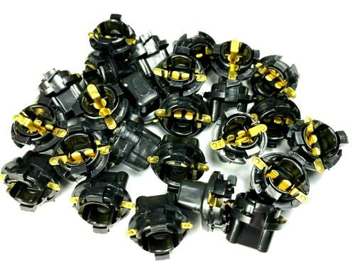 "5/8"" Dash Bulb Sockets For #194 Push In Bulbs (Qty-25) #RM05-25"