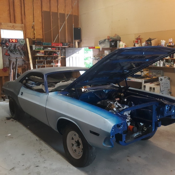 #Retro-Motive Gives Back: 70 Challenger Before & After