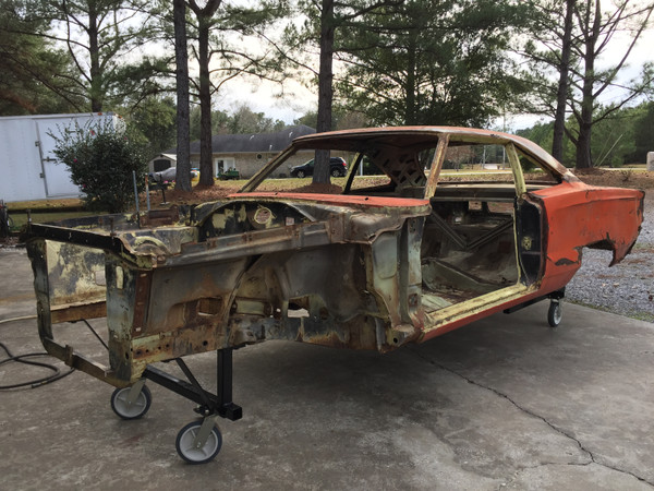 #69 Road Runner- Don's Car- Initial Inspection & Tear Down