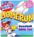Home Run White Baseball Gumballs