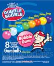 Assorted Dubble Bubble Logo Gumballs