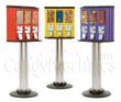 Northwestern Triple Vending Machine