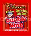 Bubble King Soft Chew Gumballs w/ Logo