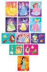 Disney Princess Shimmer Stickers