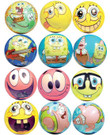SpongeBob SquarePants 51mm Foam Balls