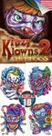 Krazy Klowns 2 Vending Tattoos