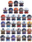 NFL Buildable Figures Vending Capsules