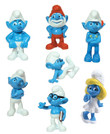 Smurfs Figurines Vending Capsules